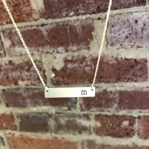 ✨Initial Bar Necklace✨